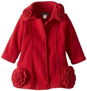Amazon.com: Kate Mack Baby Girls' Essential Coats Polar