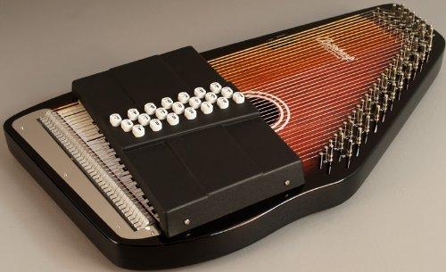 New Oscar Schmidt Os21c Classic Maple 21 Chord Autoharp w/ Free Case by Oscar Schmidt
