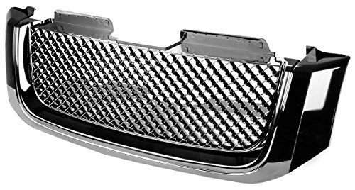 DNA MOTORING GRF-055-BK Front Bumper Grille Guard, Black