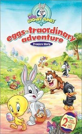 Amazon Com Baby Looney Tunes Eggs Traordinary Adventure Vhs