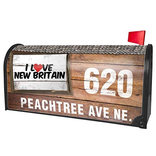 NEONBLOND Custom Mailbox Cover I Love New -