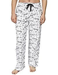 Women's Pure Cotton Flannel Pajama Lounge Pants