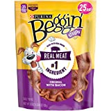 Purina Beggin' Strips Bacon Flavor Dog Treats – (4) 25 Oz. Pouches