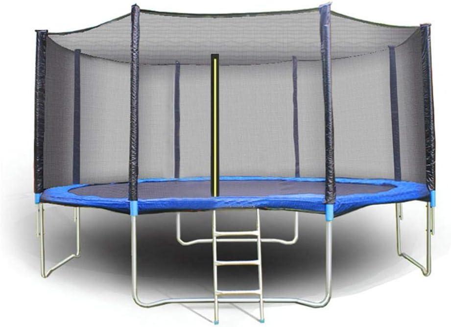 Cama elástica de Jardín, Solo Incluye Red de Seguridad, Material PE, Apertura Vertical con Cremallera, Compatible con la mayoría de Las Principales Marcas de trampolín
