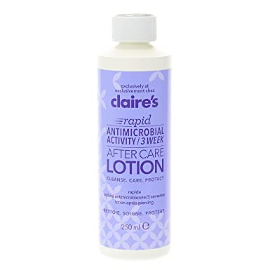 Claire's Girl's and Women's 3 Week Rapid Ear Piercing After Care Solution 250ml 1fzMmg