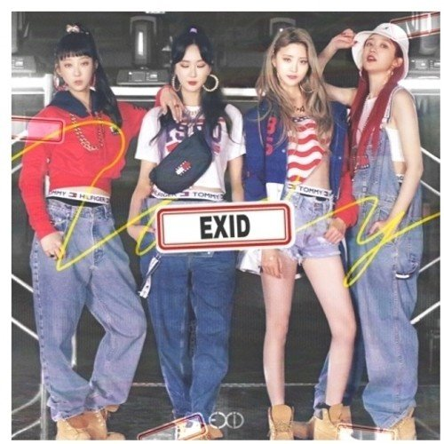 CD : Exid - Lady (Asia - Import)