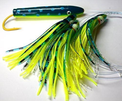 4/in Mahi Zeder Plug Daisy Kette Salzwasser Angeln K/öder f/ür Mahi Thunfisch Segel Wahoo von Ancient Mariner Tackle