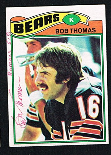 - Bob Thomas 1977 Topps Football Card #382 signed autograph auto Trading Card