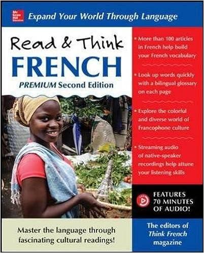 Amazon.com: Read & Think French, Premium Second Edition ...