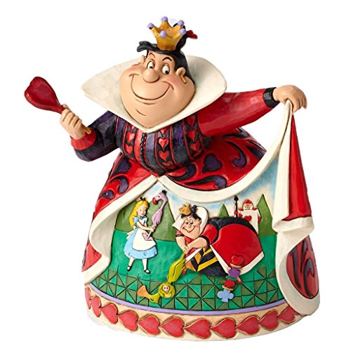 Disney Jim Shore Royal Recreation Queen of Hearts Diorama Dress Figurine 4051993