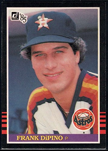 1985 Donruss Baseball #232 Frank DiPino Houston Astros Official MLB Trading Card ()
