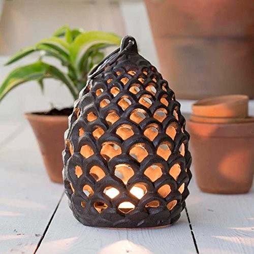 Large Pine Cone Tea Light (Pinecone Lantern)