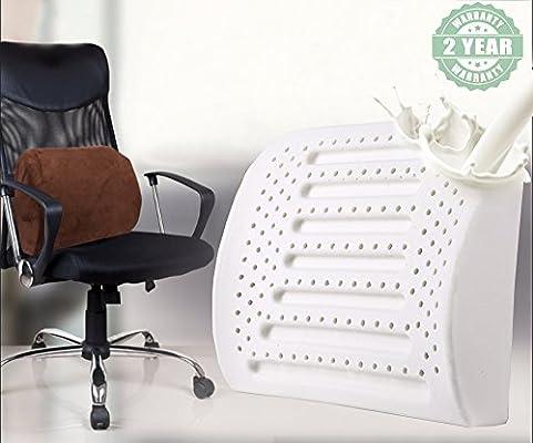 amazon com deedream latex lumbar support pillow car office chair