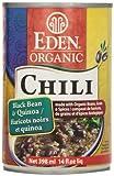 Eden Foods Black Bean & Quinoa Chili, 398 ml