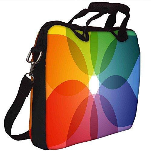 Snoogg Pattern Gedruckt Notebook-Tasche mit Schultergurt 15 bis 15,6 Zoll