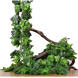 BELIESAFE Artificial Greenery Fake Plants Garland Hanging for Home Kitchen Wedding Party Garden Wall Decor 42