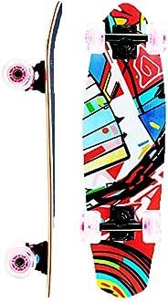 Skateboards 26 Inch Complete Mini Cruiser Longboard 7 Layer Skateboard