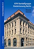 KfW Bankengruppe Niederlassung Berlin : English Version, Bernau, Nikolaus and Turner, Linda J., 3937123210