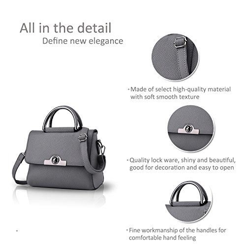 shoulder bag Mini body amp;Doris Ladies Gray Deep Lovely Nicole Blue Cross mini n810xn4q