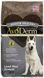 AvoDerm Natural Senior Health+ Grain Free Lamb Meal Dry Dog Food, 12-Pound
