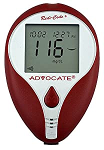 Advocate Redi Code Plus Speaking Blood Glucose Monitoring Kit
