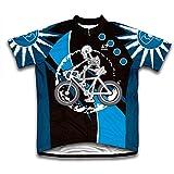 Skeleton Biker Short Sleeve Cycling Jersey
