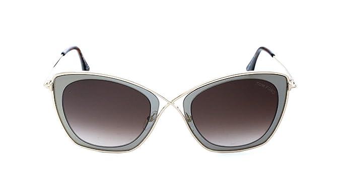 ba7384938a Tom Ford FT0605 50K 53 Montures de lunettes, Marrone Scuro, Mixte Adulte