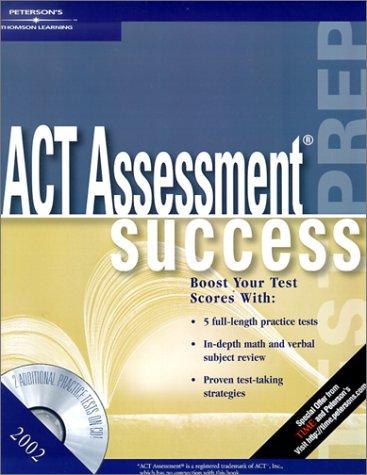 ACT Success 2002 w CDRom (Act Assessment Success, 2002)