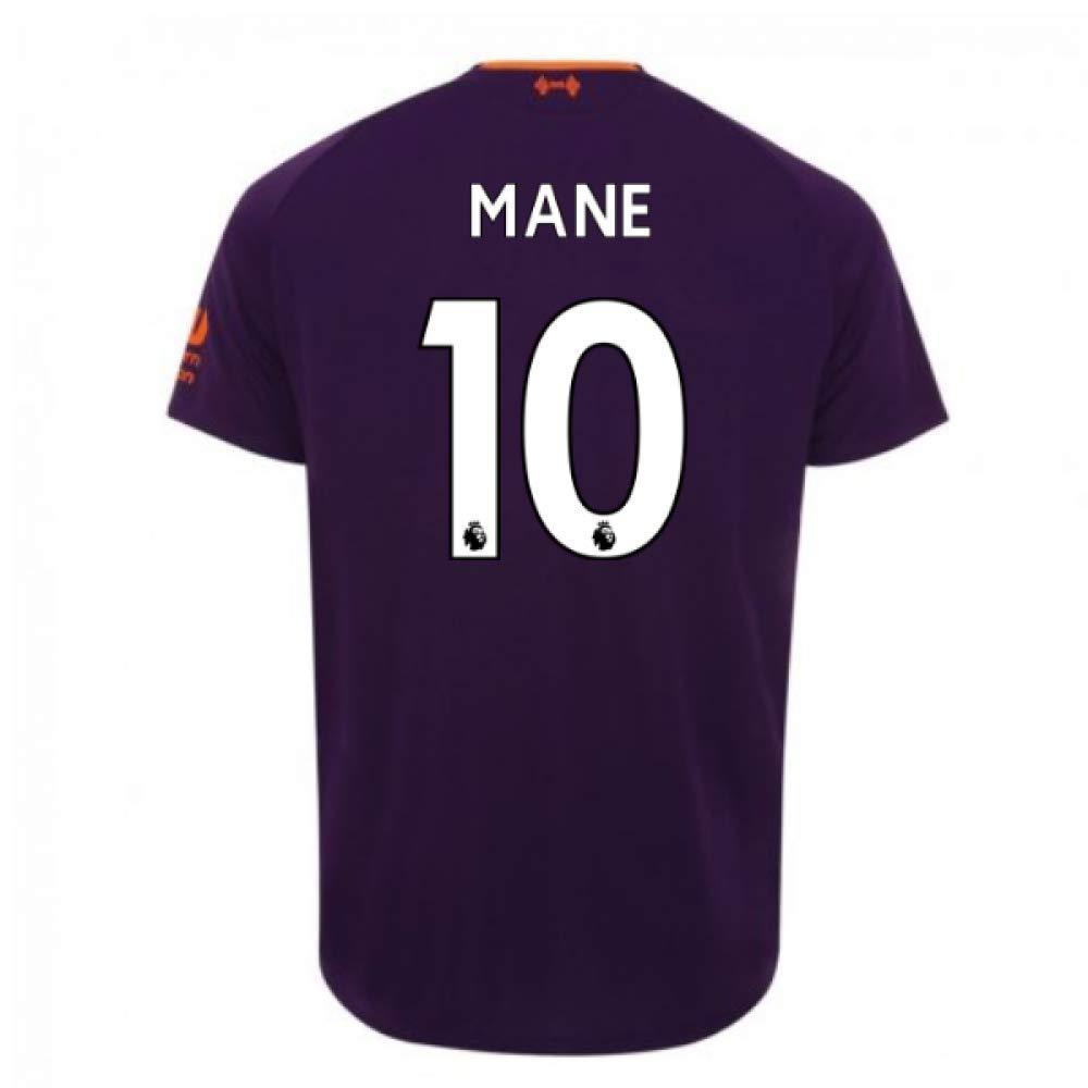 2018-2019 Liverpool Away Football Soccer T-Shirt Trikot (Sadio Mane 10)