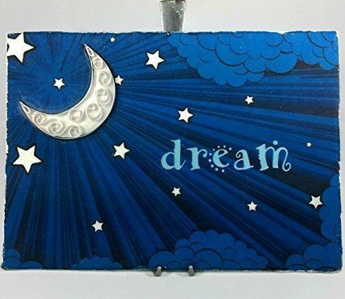 Paper Quilling Art Handmade Dream Print Bedroom Decor Cotton Canvas