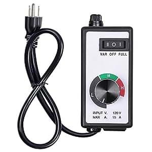 oppolite/Router controlador de velocidad variable de ventilación hidropónico Inline Ventilador Aire de escape