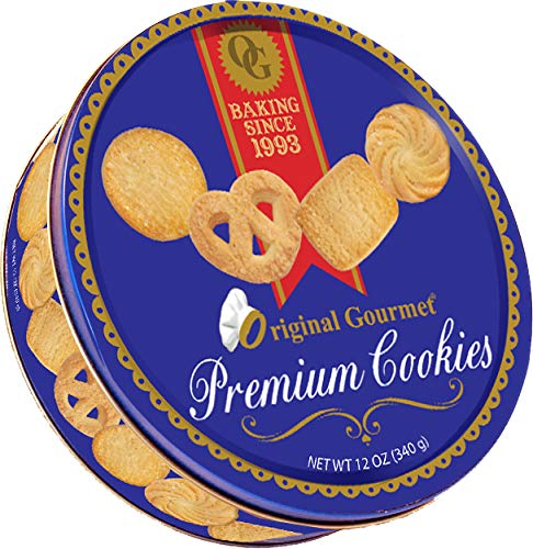 (Original Gourmet Premium Cookies 12 oz Decorative)