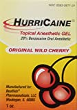 HurriCaine Topical Anesthetic Gel Wild Cherry - 1 oz.