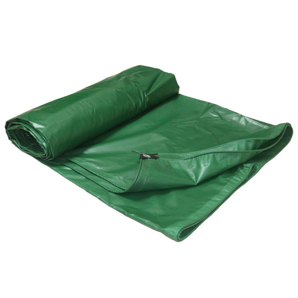 LIANGJUN オーニング ポリ塩化ビニル 防水 コーティング キャンバス 耐摩耗性 雨布 日焼け止め 増粘 シェード布 折りたたみが簡単 アウトドア、 450g/m² (色 : 緑, サイズ さいず : 6X8m) B07D2G2JKR 12904 6X8m|緑 緑 6X8m
