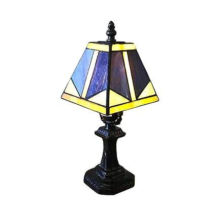 GAOLIQIN Lámparas de Mesa Estilo Tiffany Luz de Noche para ...
