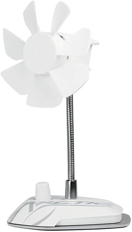ARCTIC Breeze - Ventilador de Mesa USB con Cuello Flexible y Velocidad Ajustable, Ventilador Portátil para Casa, Oficina, Ventilador USB Silencioso, Velocidad del ...