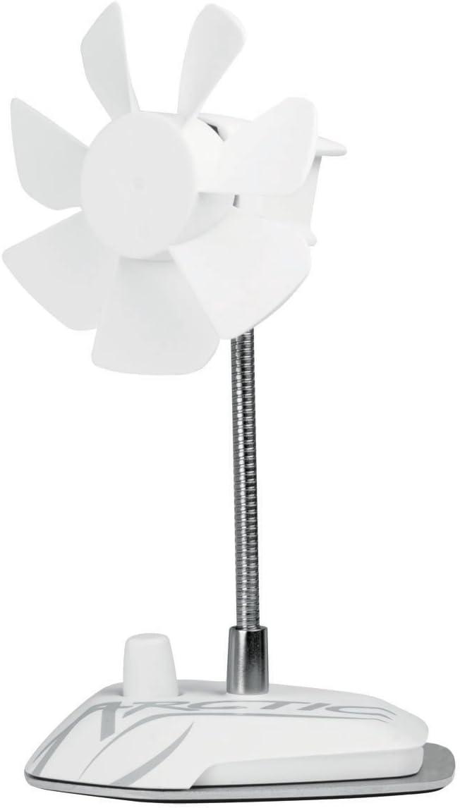 ARCTIC Breeze - Ventilador de Mesa USB con Cuello Flexible y ...