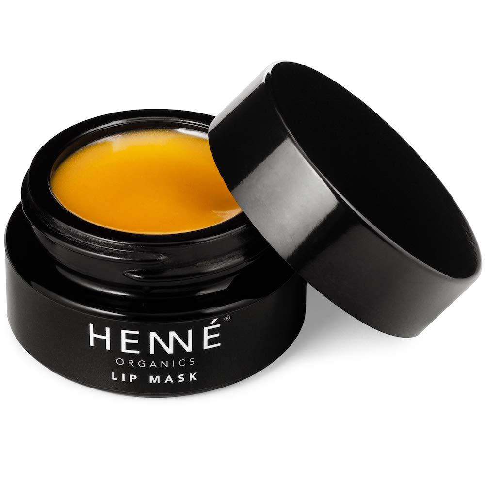 Henné Organics Lip Mask Therapy - Organic Moisturizer Treatment for Lips