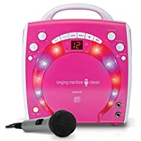 Singing Machine SML-283P Reproductor de karaoke CDG