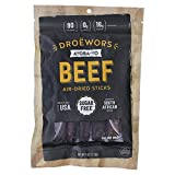 Ayoba-Yo Droewors Beef Sticks. Keto Friendly. Premium Air-Dried Sausages Made With The Finest Cuts of Beef. Gluten, Sugar & Nitrate Free. Delicious Meat Stick. 4 Ounce