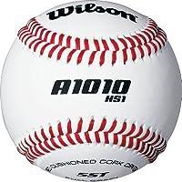 Béisbol Wilson SST HS1 (paquete de 12), blanco