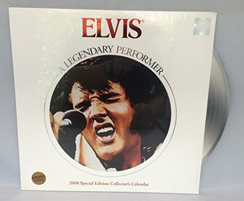 (Elvis a Legendary Performer 2008 Special Edition Collector's Calendar )