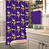 MINNESOTA VIKINGS NFL SHOWER CURTAIN by Northwest