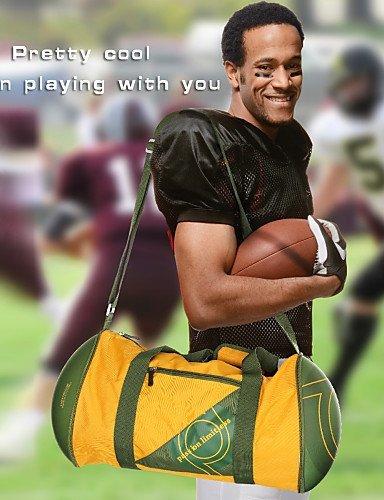 GXS GH Cool Rugby hordeolum Bag/Outdoor Cover fashine Tasche Fans Bag–Rot/Grün