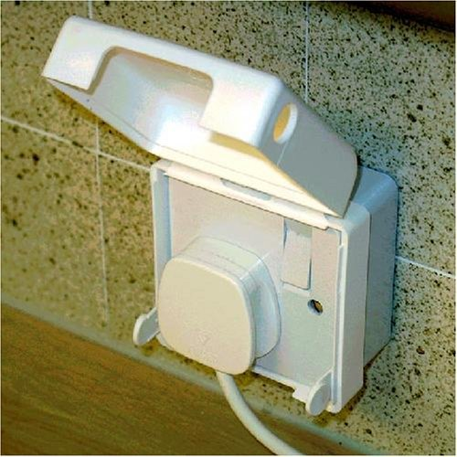BabySecurity Electric Plug Socket Cover (1 Pack, Double)