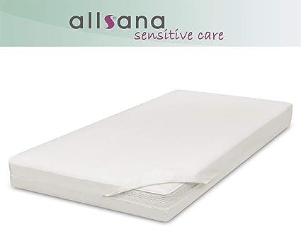 Allsana Allergiker Matratzenbezug 160x200x30 Cm Allergie Bettwäsche Anti Milben Encasing Milbenschutz Für Hausstauballergiker Ideal Für