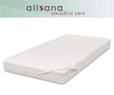 All Sana – alérgicos Funda para colchón 160 x 200 x 30 cm Allergie Cama antiácaros
