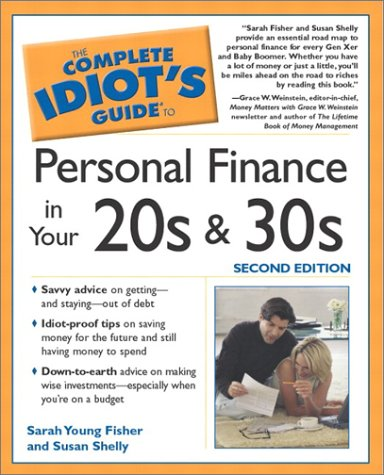 Download Complete Idiot's Guide to Personal Finances in your 20's and 30's, 2E (The Complete Idiot's Guide) pdf
