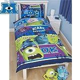 Official Monsters University Single Duvet Set Bedding Boys Girls Bedroom