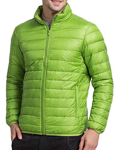Xxl Puffer Uomini Piumino Outwear Eku Verde Cappotto Atletico Chiaro Ci Packable fx88I4Awq